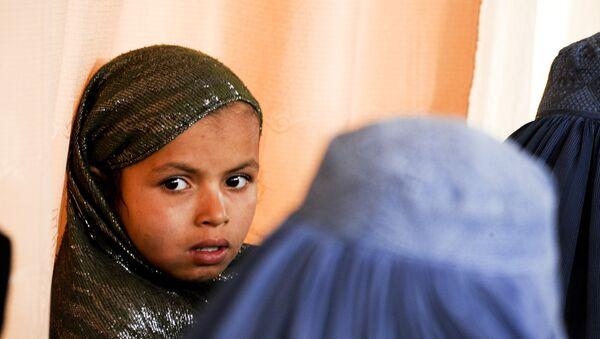 Une fille afghane - Sputnik France