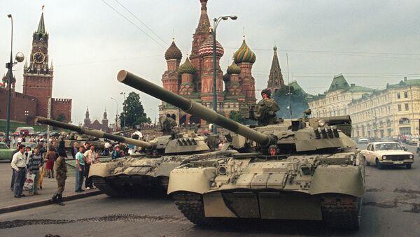 Le putsch de Moscou de 1991 - Sputnik France
