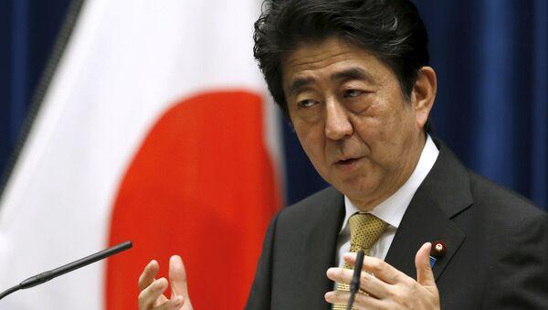 Le premier ministre du Japon Shinzo Abe - Sputnik France