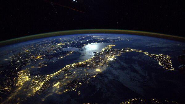 Vue sur l'Italie depuis l'espace cosmique - Sputnik France