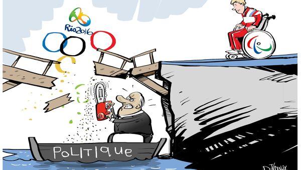 Pour eux, l'exclusion des Jeux paralympiques est plus douloureuse que leur handicap - Sputnik France