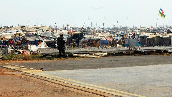 Le camp de déplacés à Bangui, en Centrafrique - Sputnik France