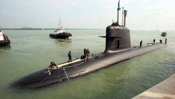 Un sous-marin Scorpène conçu par le DCNS - Sputnik France