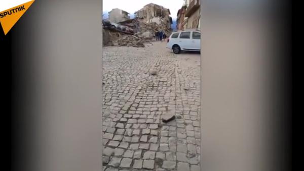 Un séisme de magnitude 6.2 secoue le centre de l'Italie - Sputnik France