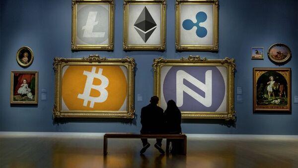 Cryptocurrency Art Gallery - Sputnik France