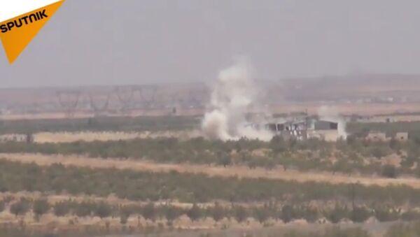 L'armée syrienne attaque les terroristes au nord de Hama - Sputnik France