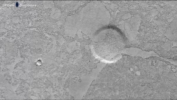 Le site d'atterrissage des extraterrestres découvert sur Mars? - Sputnik France