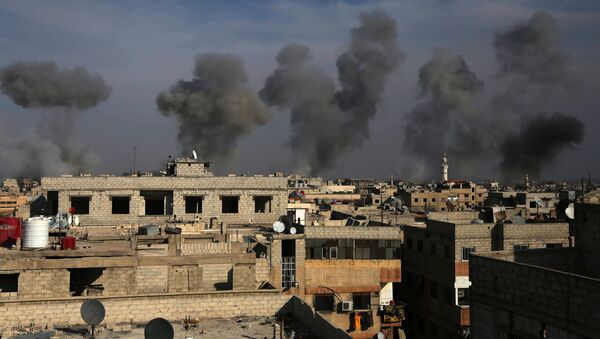 La Ghouta orientale, près de Damas - Sputnik France