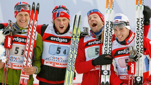 Skieurs norvégiens - Sputnik France