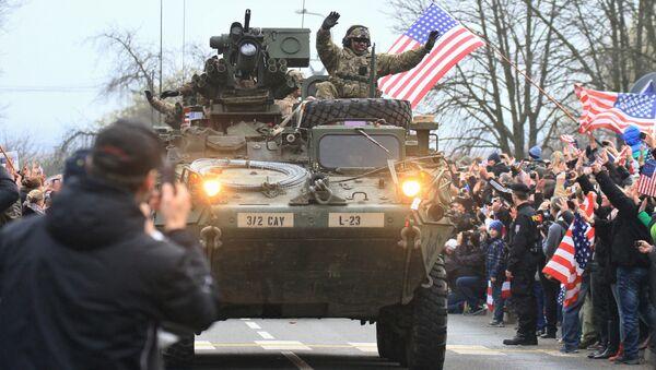 Des soldats US en République tchèque (Image d'illustratration) - Sputnik France