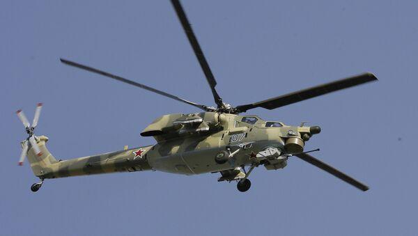 Боевой вертолет нового поколения Ми-28Н - Sputnik France