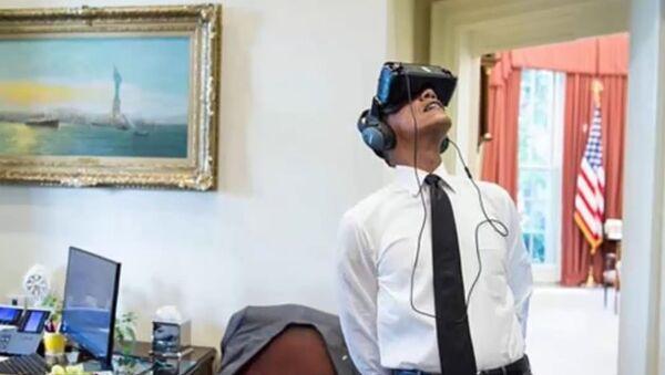 Obama: les USA foncent vers Mars - Sputnik France
