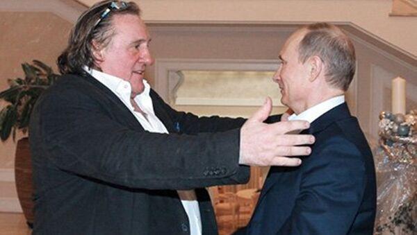 Depardieu et Poutine - Sputnik France