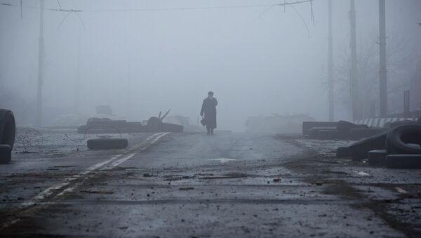 Destructions dans l'est de l'Ukraine, à Donetsk - Sputnik France
