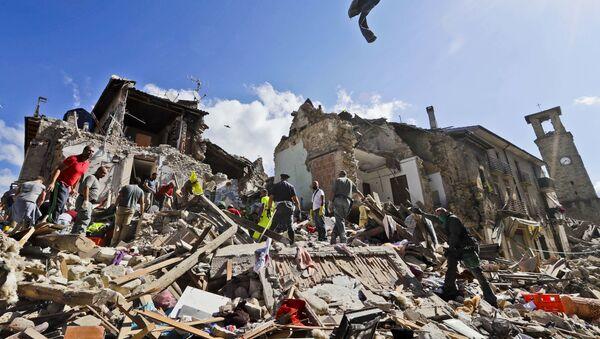 séisme en Italie - Sputnik France