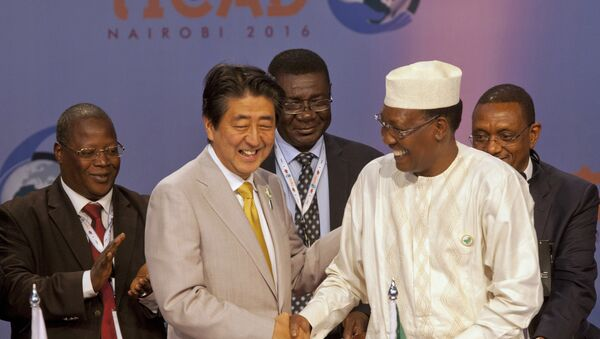 Le premier ministre japonais Shinzo Abe à Nairobi - Sputnik France