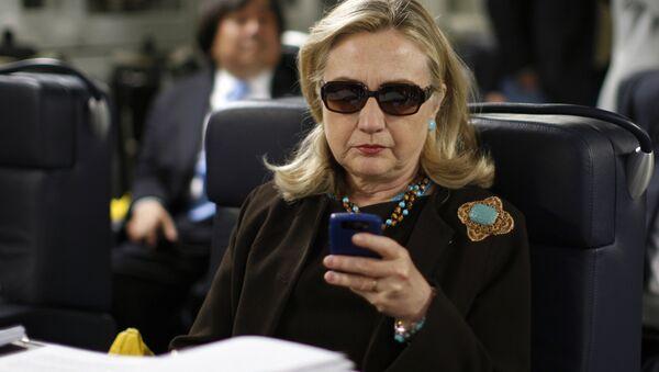 Hillary Clinton, US-Präsidentschaftskandidatin der Demokraten - Sputnik France