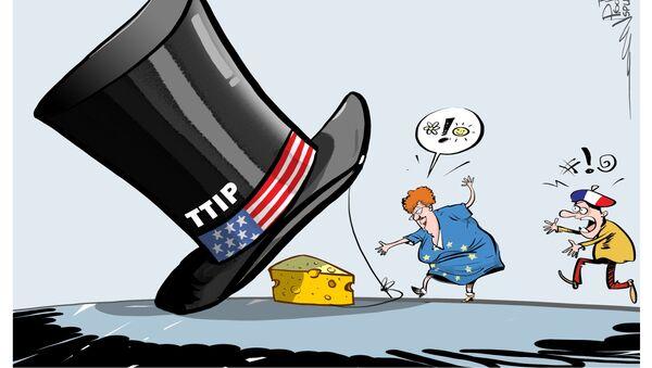Tafta bouclé avant la fin 2016? La France demandera l'arrêt des négociations - Sputnik France