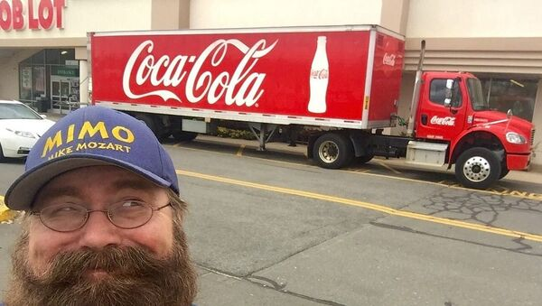 Coca Cola Truck - Sputnik France