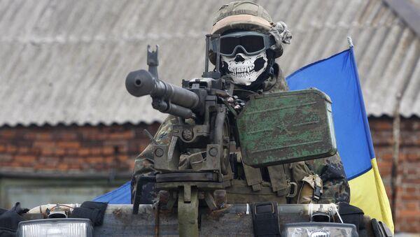 Ukrainischer Soldat - Sputnik France
