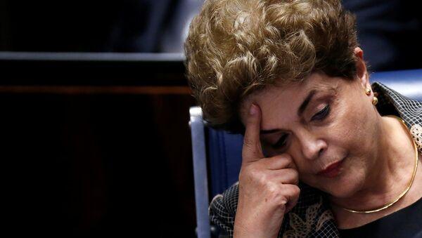 La présidente brésilienne destituée Dilma Rousseff - Sputnik France