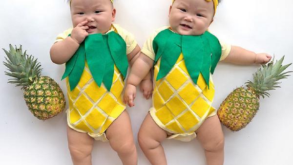 Leia et Lauren, les jumelles du Soleil! - Sputnik France