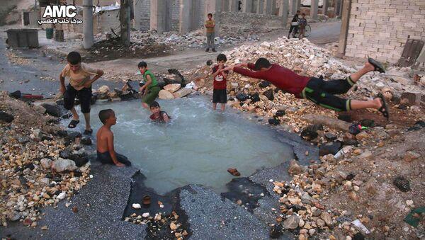 Des enfants en Syrie - Sputnik France