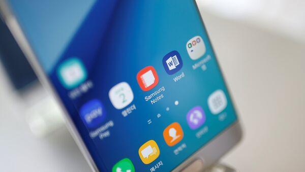 Samsung Galaxy Note 7, Image d'illustration - Sputnik France