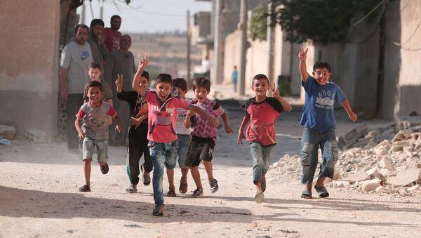 enfants syriens - Sputnik France