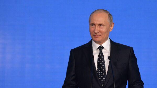 Poutine au Forum économique à Vladivostok, 2016 - Sputnik France