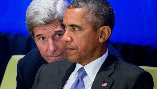 John Kerry et Barack Obama - Sputnik France