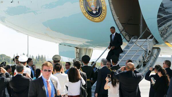 Barack Obama trifft zum G20-Gipfel in Hangzhou ein - Sputnik France