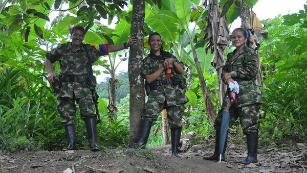 Les partisanes des FARC - Sputnik France