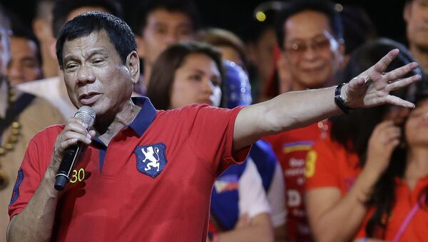 Le président philippin Rodrigo Duterte - Sputnik France