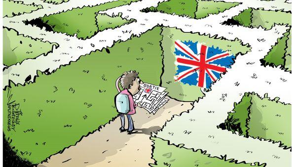 La Grande-Bretagne érige une barrière de 4 m pour contenir les migrants à Calais - Sputnik France