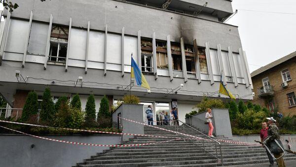 Bâtiment de la chaîne de télévision Inter TV à Kiev - Sputnik France