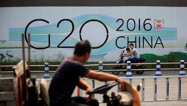 Le sommet du G20 en Chine - Sputnik France
