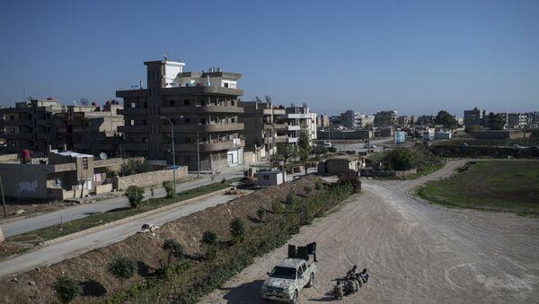Ассирийские силы самообороны Соторо в городе Камышли - Sputnik France