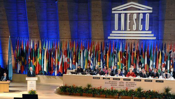 L'emblème de l'UNESCO. Archive photo - Sputnik France