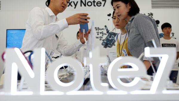 Galaxy Note 7 - Sputnik France