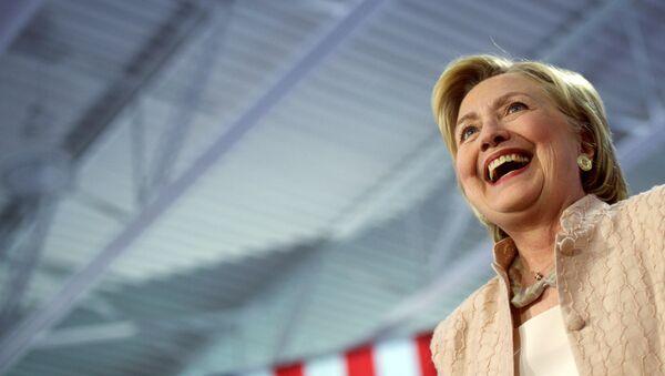 La candidate démocrate Hillary Clinton - Sputnik France