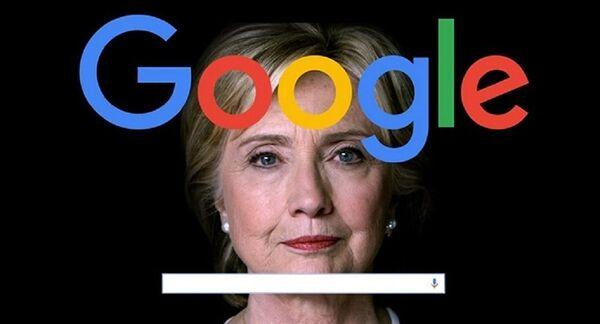 Danald Trump accuse Google d'être de mèche avec Hillary Clinton - Sputnik France