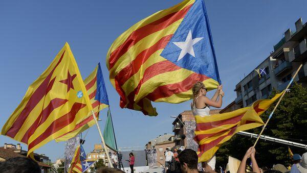 million de Catalans ont pris part à des manifestations - Sputnik France