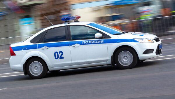 Voiture de la police russe - Sputnik France