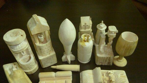Figurines en bois - Sputnik France