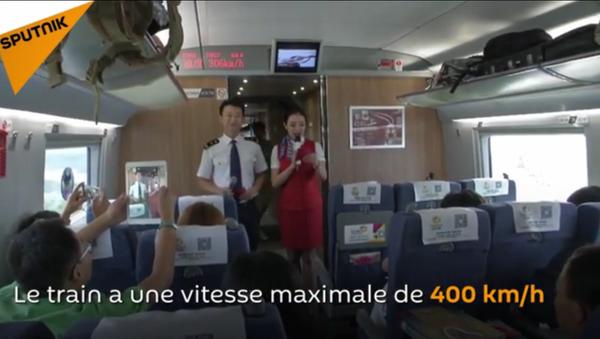 Le train le plus rapide du monde est chinois - Sputnik France