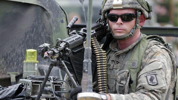 Un soldat de l'armée US - Sputnik France