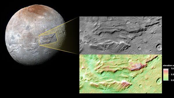 la surface de Charon - Sputnik France