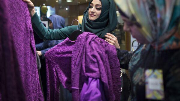 Frauen in einem Niqab-Shop - Sputnik France