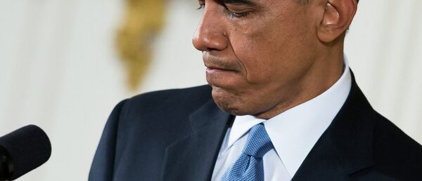 President Barack Obama pauses during a news conference in the East Room of the White House, on Wednesday, Nov. 5, 2014, in Washington. Obama is telling Americans who voted for change: I hear you. - Sputnik France
